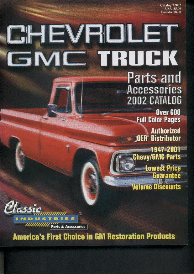 classic industries chevrolet gmc truck catalog